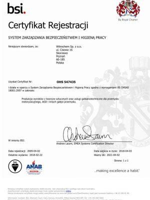 OHSAS 18001 POL-1